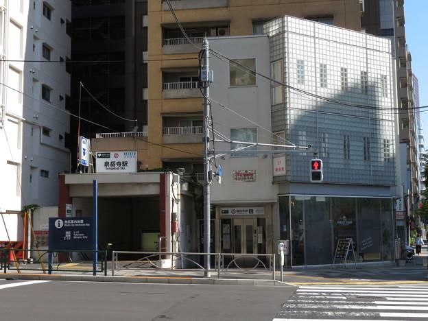 泉岳寺駅 A2番口
