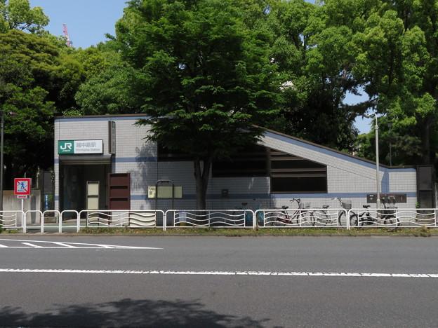 越中島駅 1番口