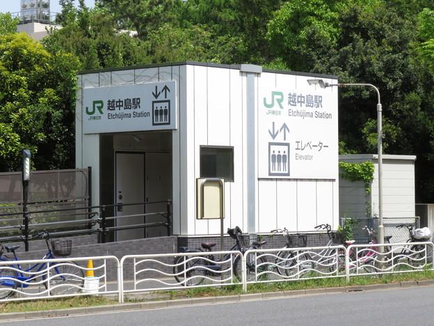 越中島駅 4番口
