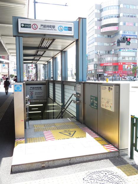 門前仲町駅 5番口