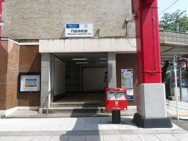 門前仲町駅 1番口
