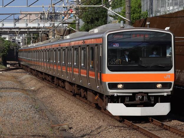 武蔵野線E231系0番台 MU33編成
