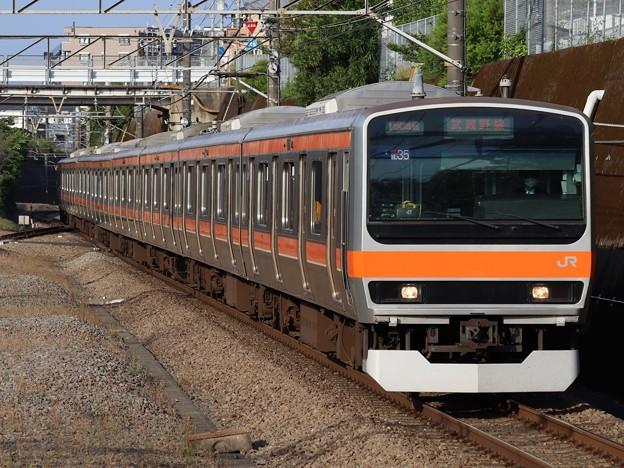 武蔵野線E231系0番台 MU35編成