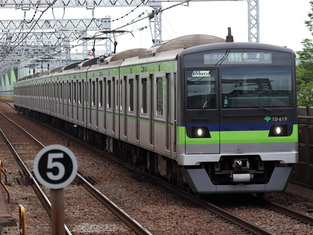 都営新宿線10-300形 10-610F