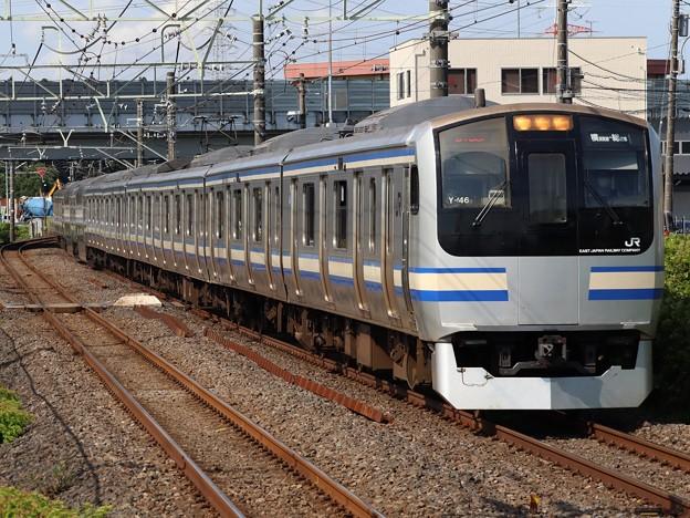 横須賀・総武快速線E217系 Y-46+Y-102編成
