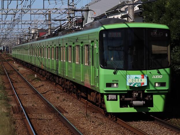 京王線8000系 8713F【高尾山トレイン/タカオネHM】