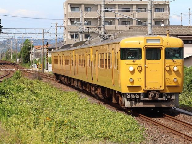 山陽線115系3000番台 N-02編成