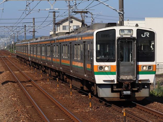 東海道線211系5000番台 LL12+SS8編成