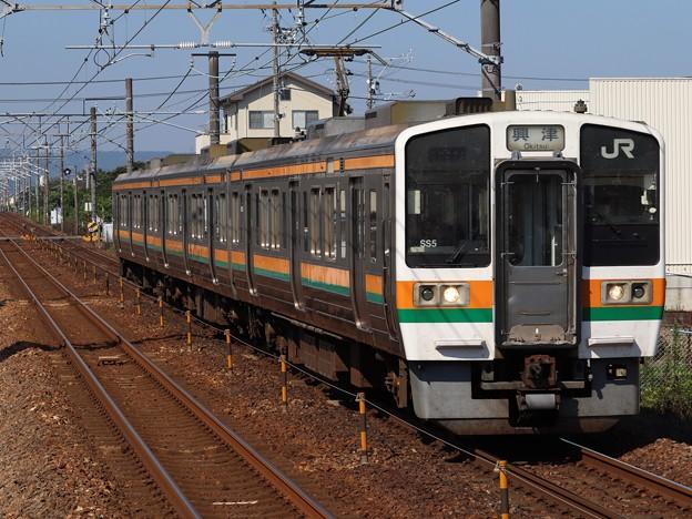 東海道線211系5600番台 SS5編成
