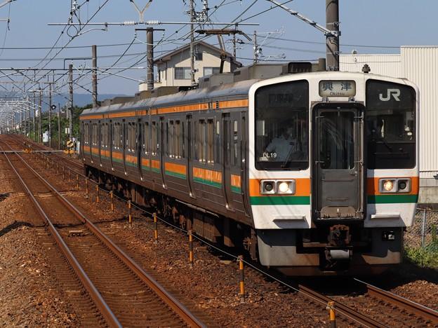 東海道線211系5000番台 LL19編成