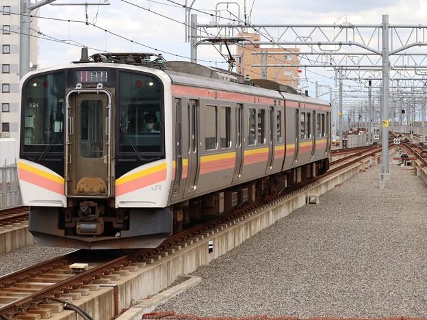 白新線E129系 A24編成