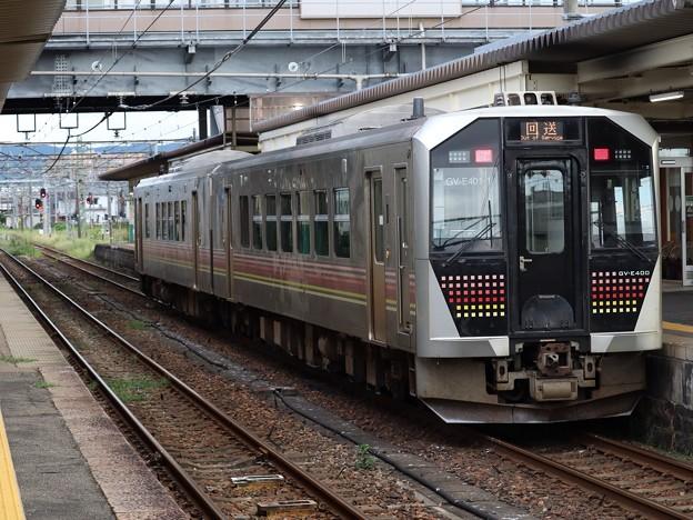 Photos: 磐越西線GV-E400系 GV-E401-1+GV-E402-1