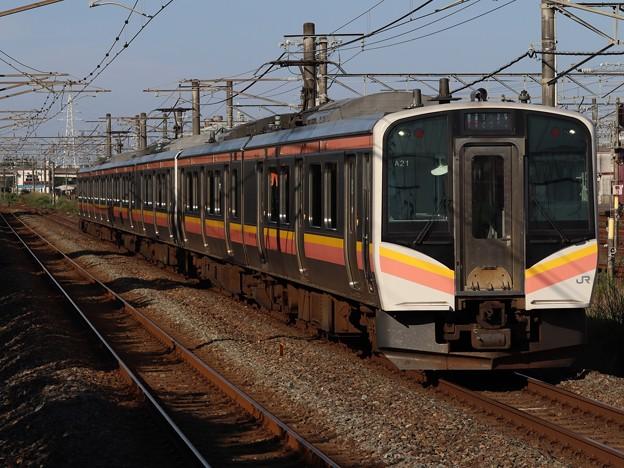 白新線E129系 A21+B1編成