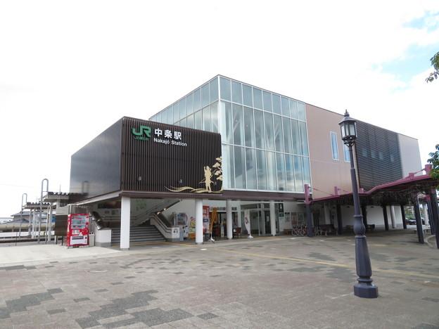 中条駅 東口