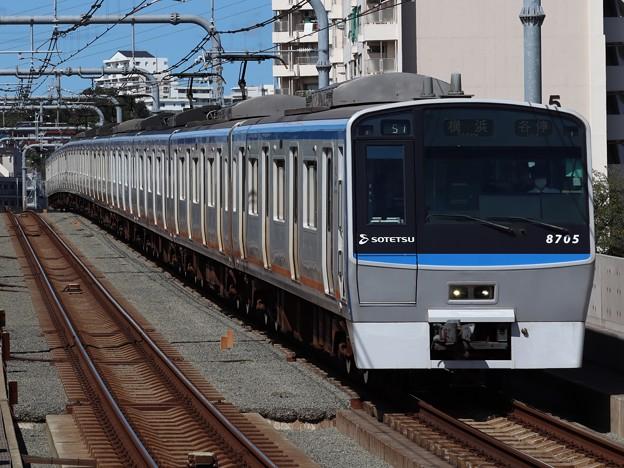 相鉄線8000系 8705F