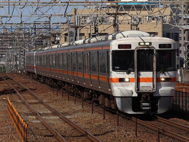 東海道線313系5000番台 Y101+R108編成