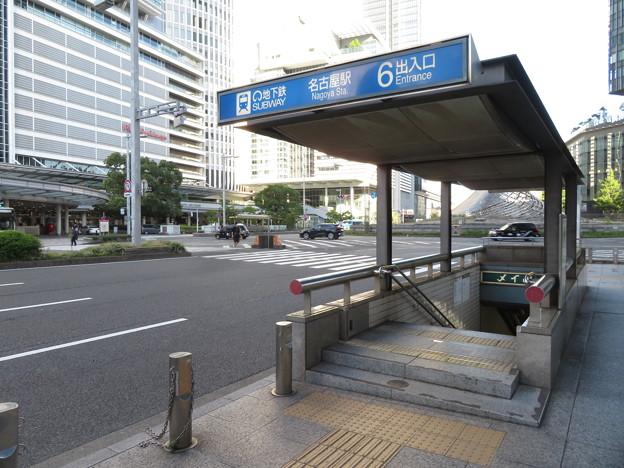 名古屋駅 地下鉄6番口