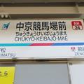 #NH24 中京競馬場前駅 駅名標【上り 1】