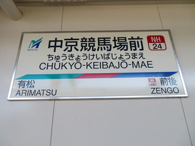 #NH24 中京競馬場前駅 駅名標【上り 2】
