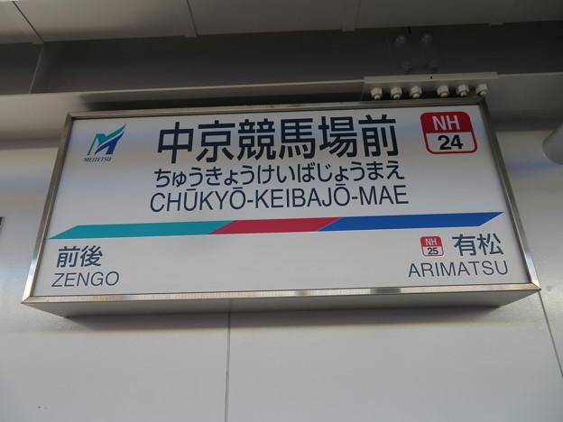 #NH24 中京競馬場前駅 駅名標【下り 1】