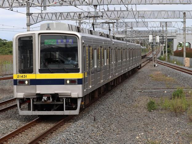 東武日光・宇都宮線20400系 21431F