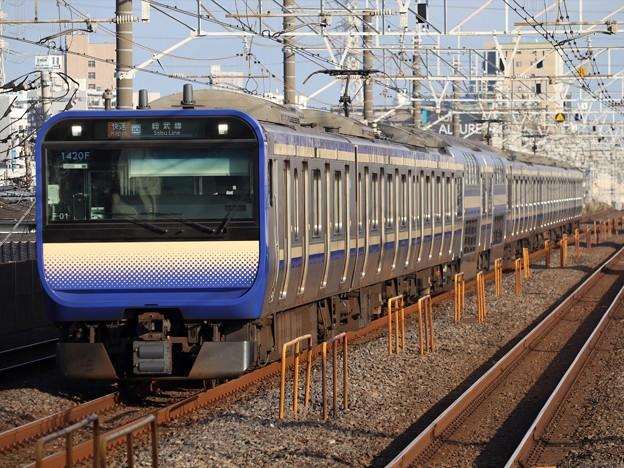 横須賀・総武快速線E235系1000番台 F-01編成