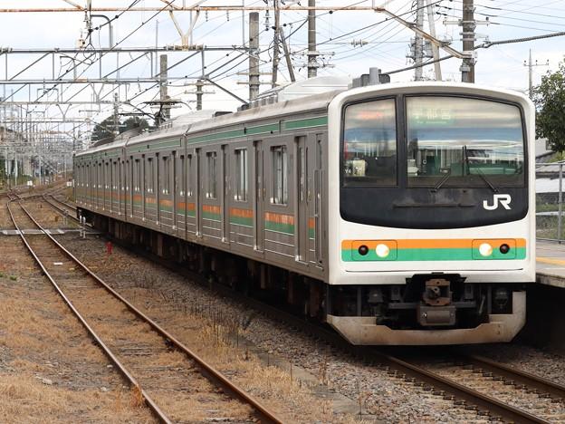 宇都宮線205系600番台 Y4編成