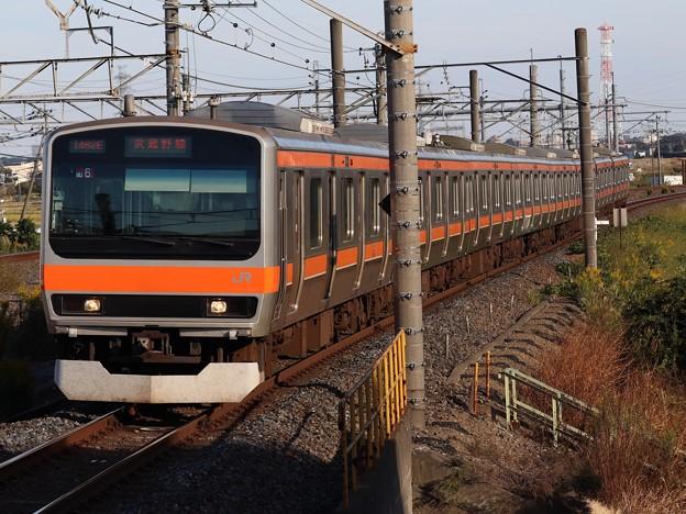 武蔵野線E231系0番台 MU6編成