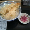 かつてん「天丼塩大盛り」490 円毎月10日は390円