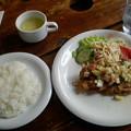 レストランのや「日替りランチ」900円チキン唐揚げポリネシアン