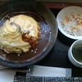 太陽の恵み「トロトロオムライス」850円バターライス