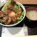 Photos: えにわ温泉ほのかレストラン「ヤンニョムチキン丼」760円