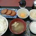 Photos: みよしの「さつま揚げ定食」440円