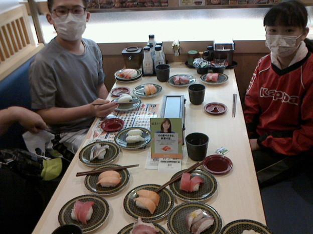 はま寿司で団体戦閉会式