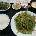 Photos: 華龍飯店「日替ランチチンジャオロース」700 円