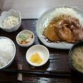 Photos: 定食のむさしの「今日のランチA 」670円豚の照焼
