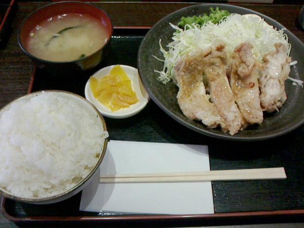 わしの食卓「チキン南蛮定食」8 00円