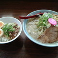 さんぱち「塩ラーメン& 玉子めし」550 円&300円さんぱちデー