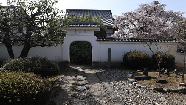 萬福寺・売茶堂入口3