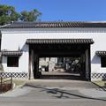 旧黒田藩蔵屋敷長屋門1