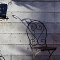 Photos: 椅子と影