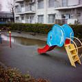 ゾウの滑り台