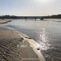 Photos: 2021年2月28日、一ノ宮海岸