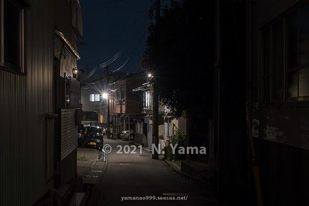 2021年9月14日、金沢市東山