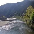 錦川です綺麗な川ですね