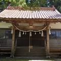 八幡宮神社に安全登山の参拝