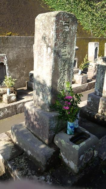 西郷吉二郎の墓 鹿児島市