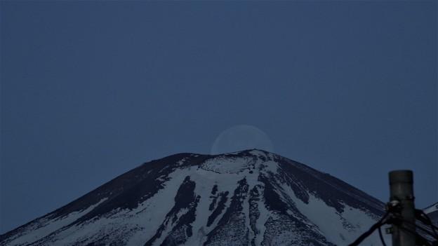 Photos: 月の入り!