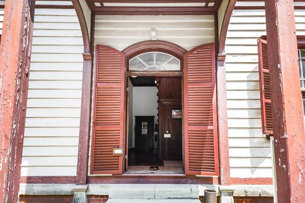 旧エンバーソン住宅 玄関
