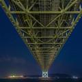 明石海峡大橋 ライトアップ 4